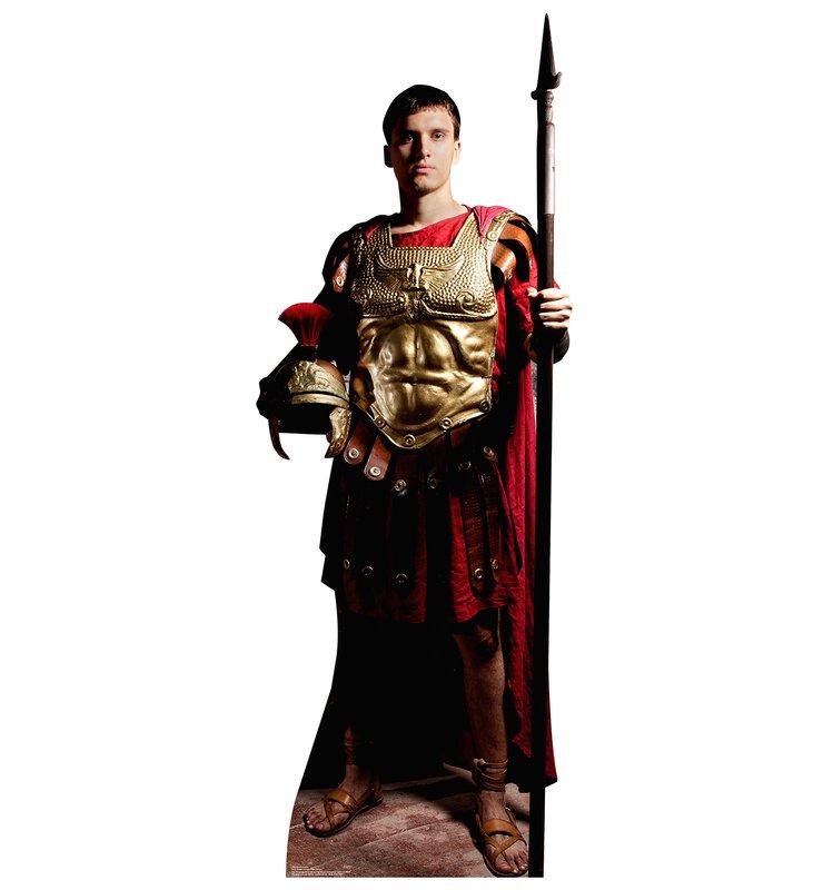 749x800 Advanced Graphics Roman Soldier Life Size Cardboard Cutout Standup