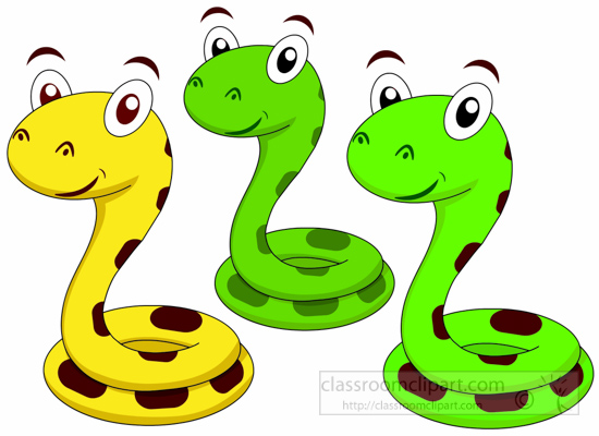 550x400 Animal Clipart Snake