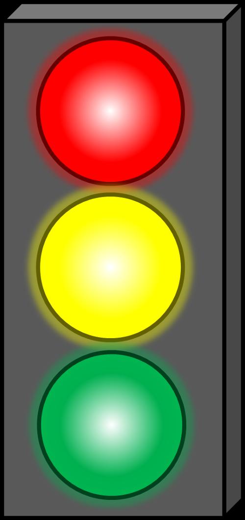 500x1058 Stoplight Clipart