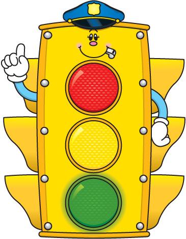 365x469 Stoplight Clipart