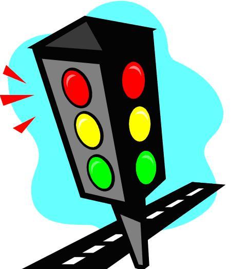 481x524 Stoplight Stop Light Animated Traffic Clipart Image
