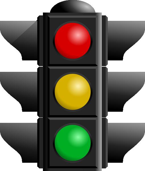 510x600 Traffic Light Clip Art