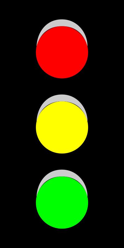 400x800 Free Clipart Traffic Light (V) Thebyteman