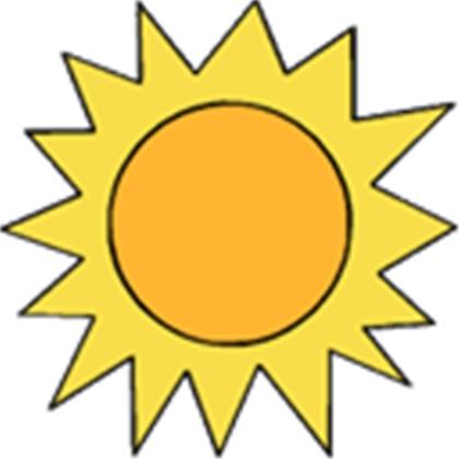 420x420 Clipart Of A Sun