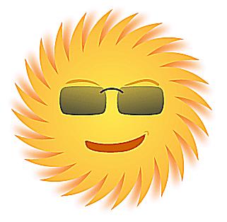 321x314 Sun Clipart Line Art