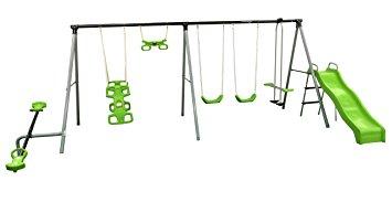 355x193 Flexible Flyer World Of Fun Swing Set Sports Amp Outdoors