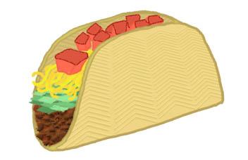352x228 Taco Clip Art Taco Image