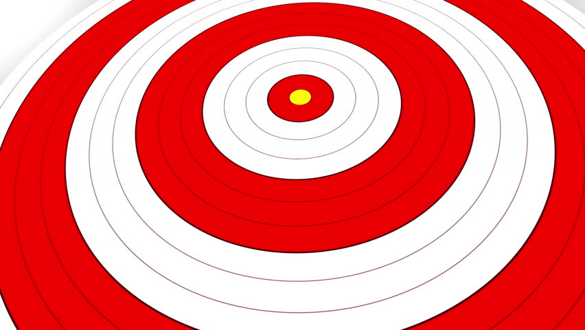852x480 British Target Tunnel 4 A Seamless Loop Of A Target Shrinking