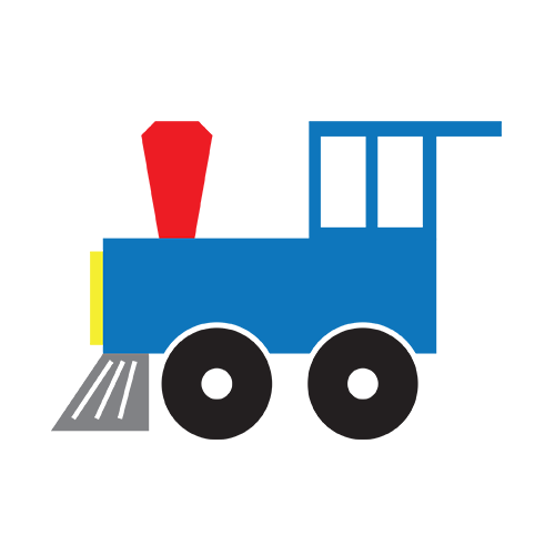 500x500 Image Of Caboose Clipart