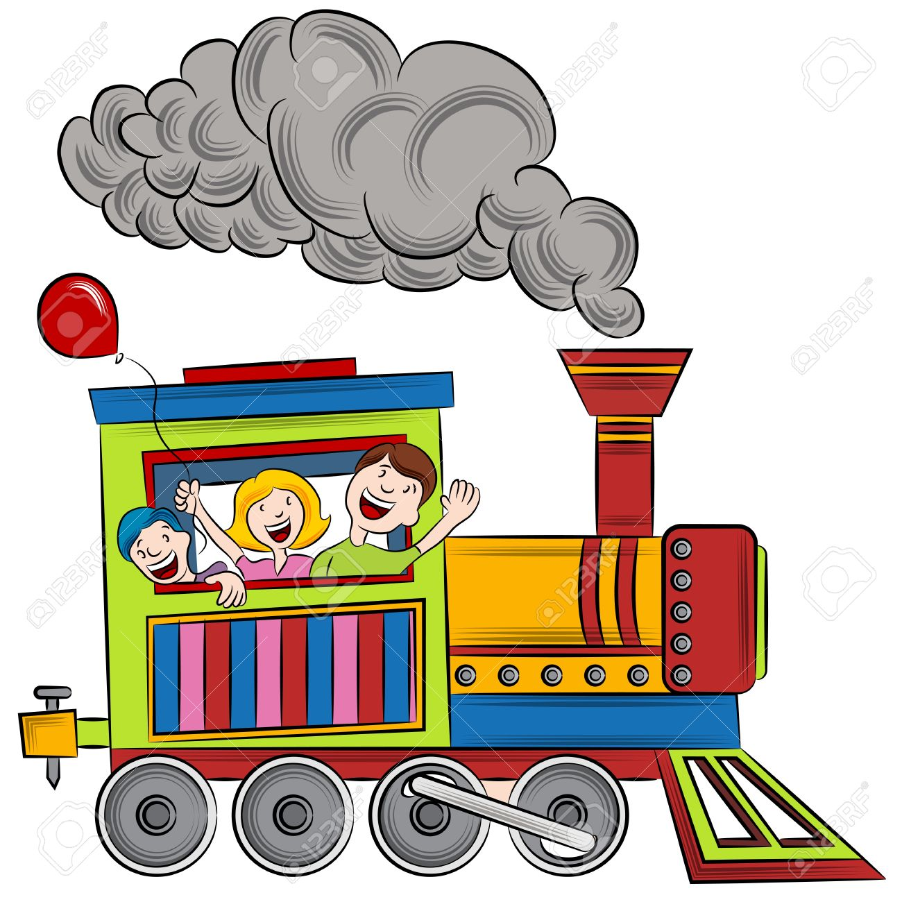 1300x1300 Locomotive Clipart Animated Train