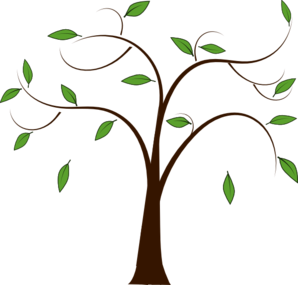 298x285 Leaves Clipart Tree Branch