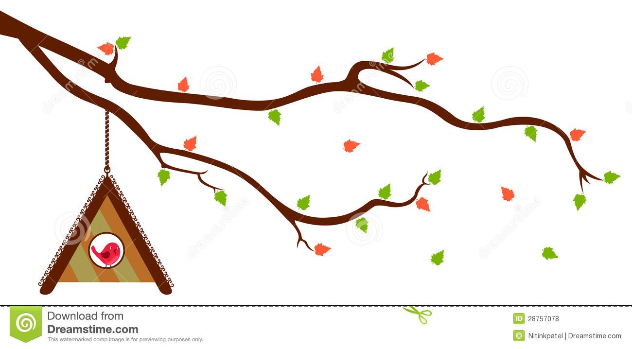 1300x718 Bird House Clipart Tree Branch Clip Art