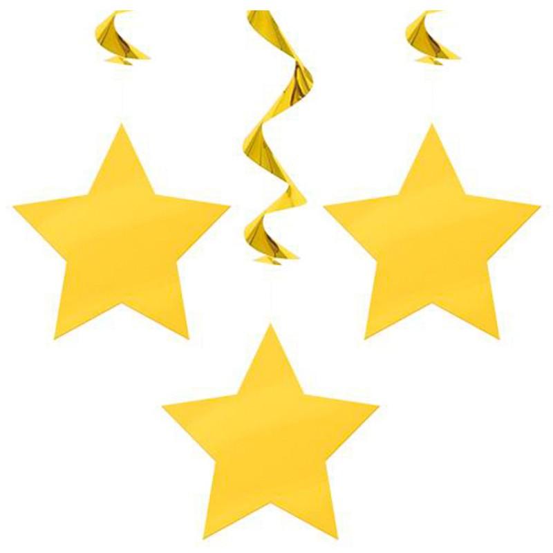 800x800 Falling Stars Clipart Yellow Star