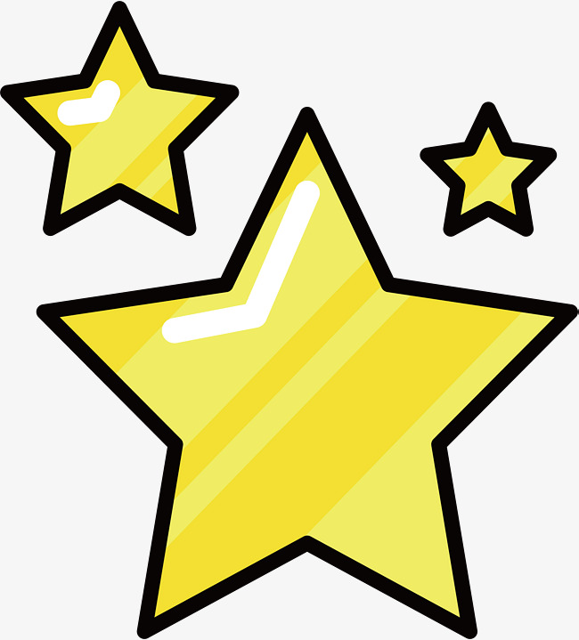 650x719 Golden Five Pointed Star, Vector Png, Stars, Yellow Star Png