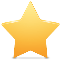 256x256 Plain Clipart Yellow Star Transparent Png