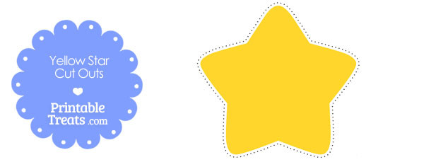 610x229 Printable Yellow Stars 2018 Printable