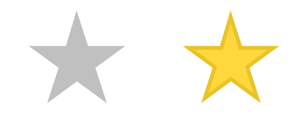 621x233 The Yellow Star In The Sprites.svg Image Looks Unfinished