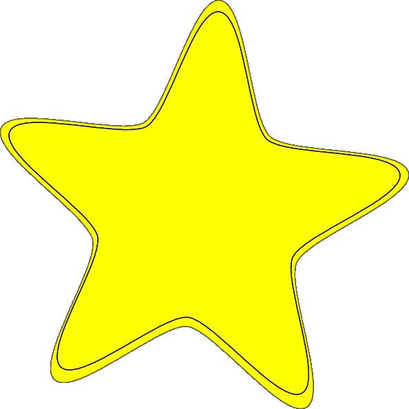 594x595 Yellow Star 2 Clip Art