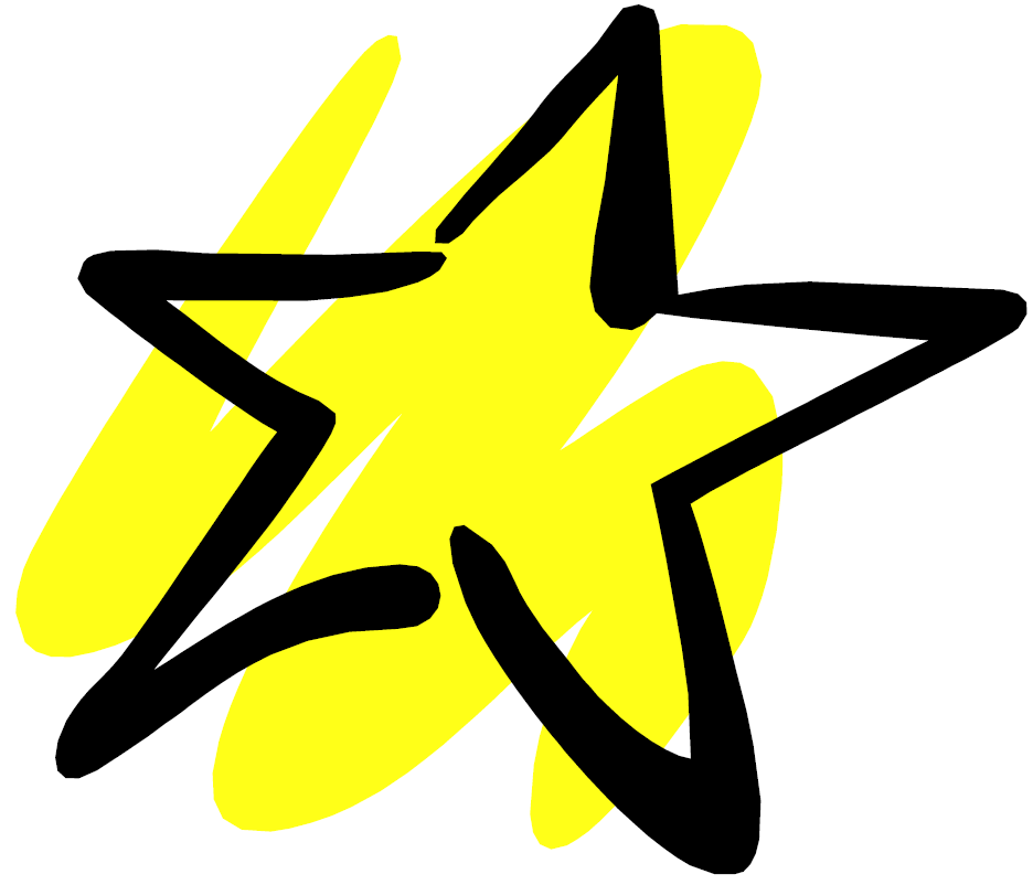 936x802 Yellow Star Clip Art