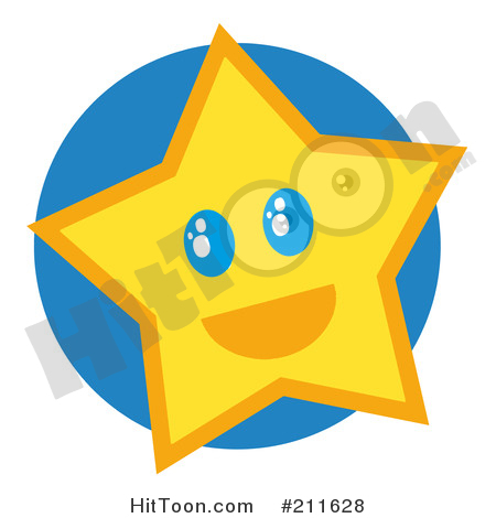 450x470 Yellow Star Clipart