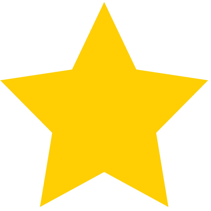 700x700 Yellow Star Clipart
