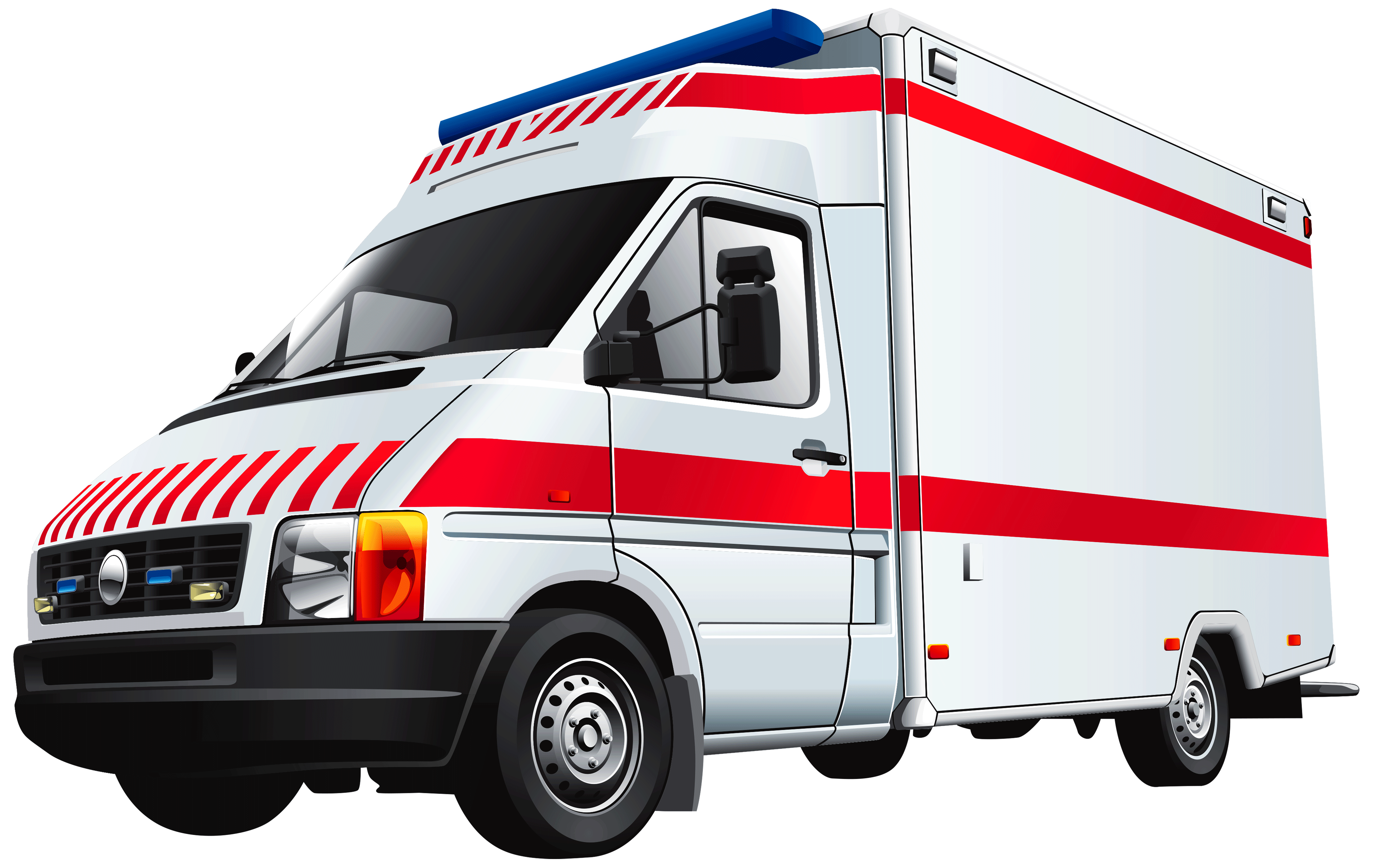 4000x2524 Ambulance Clipart
