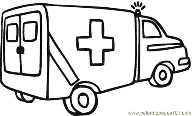 650x394 Ambulance Clipart Black And White Letters Example