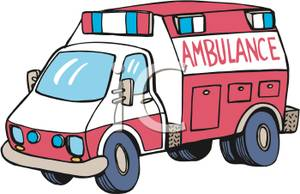 300x194 Ambulance Clipart Picture
