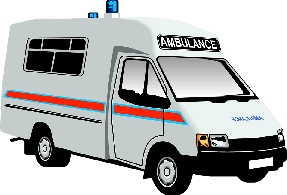 958x649 Hospital Ambulance Clipart