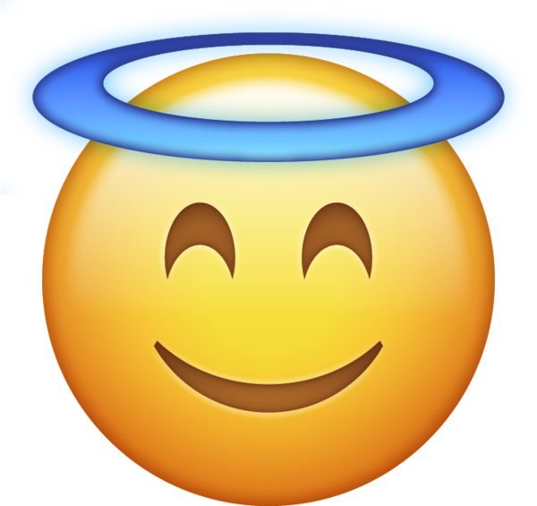 600x565 Download Angel Halo Iphone Emoji Icon In Jpg And Ai Emoji Island