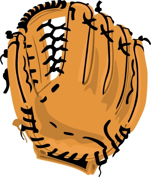 510x600 Baseball Glove Clip Art Free Vector In Open Office Drawing Svg