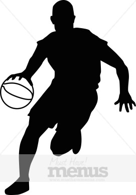 271x388 Basketball Player Clipart