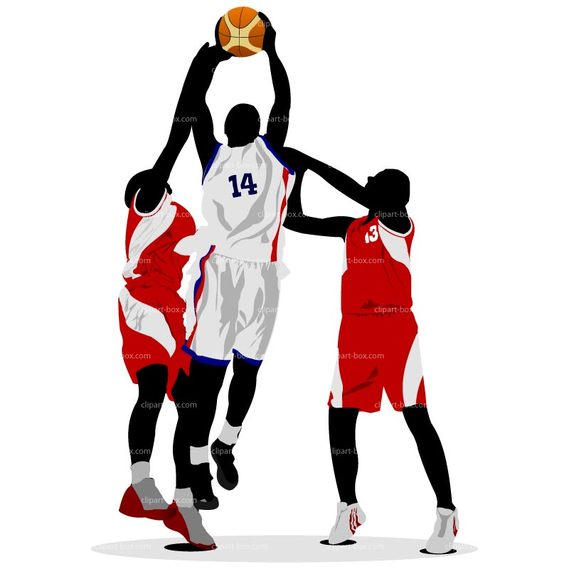 800x800 Basketball Players Clipart