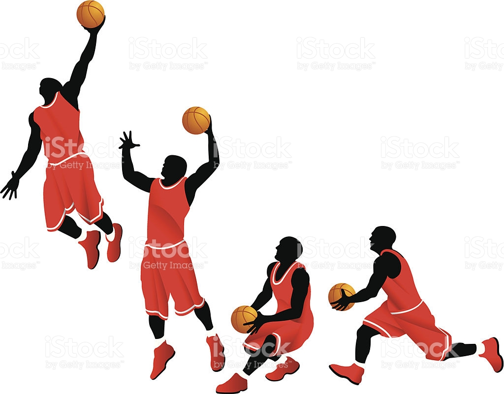 1024x802 Basketball Player Dunking Clipart