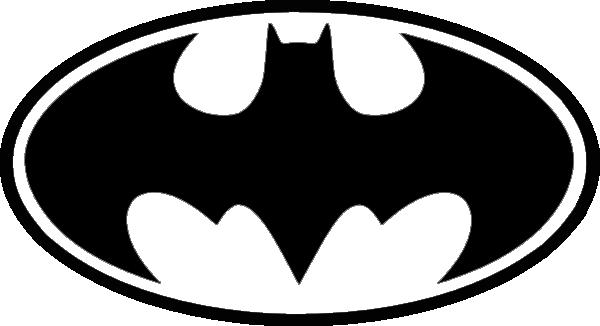 600x326 Batman Symbol Clipart