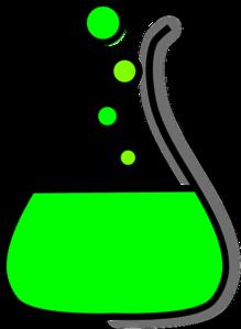 219x299 Beaker Green Bubble Prezi 2 Clip Art