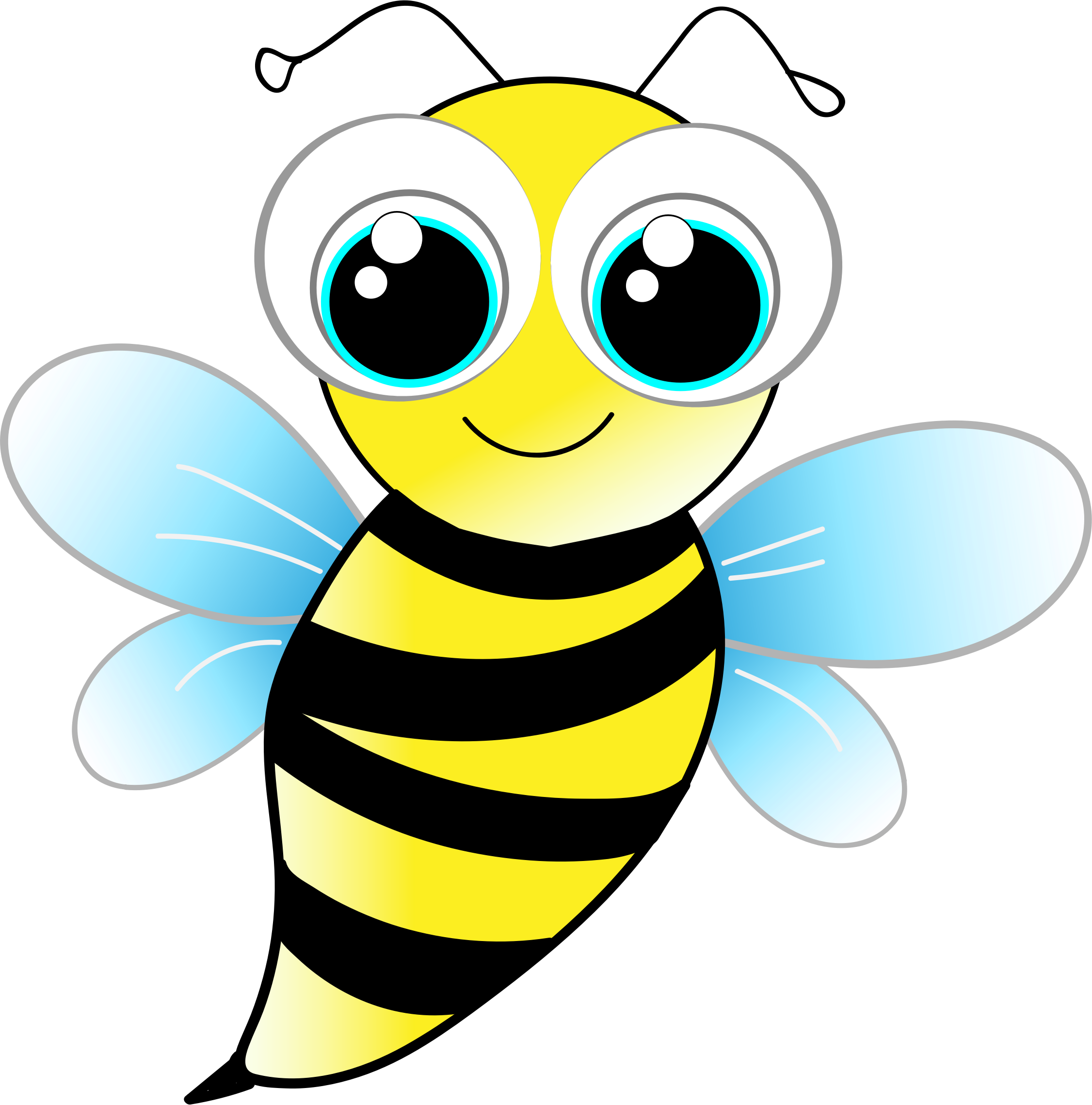 2252x2278 Clipart Pictures Of Bee Collection