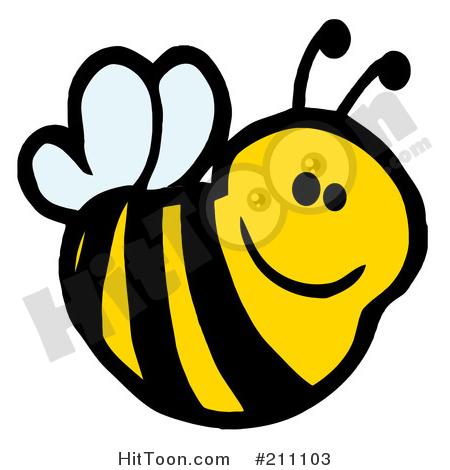 450x470 Honey Bee Clipart