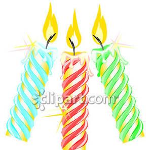300x297 Birthday Candles
