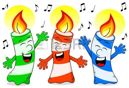 450x309 Birthday Candles Clipart