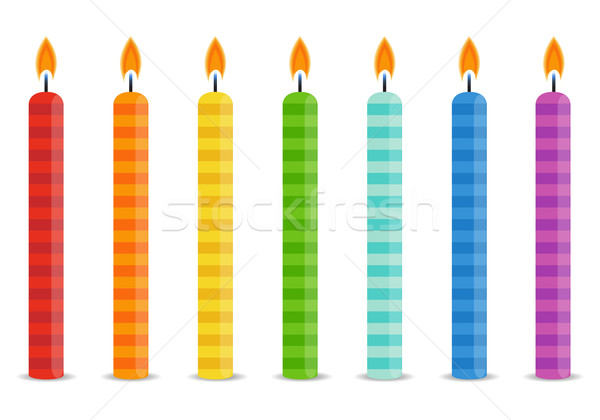 600x420 Birthday Candles Isolated Stock Photos, Stock Images And Vectors