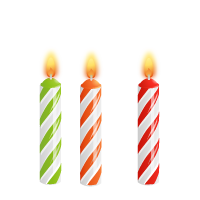 200x200 Download Birthday Candles Free Png Photo Images And Clipart