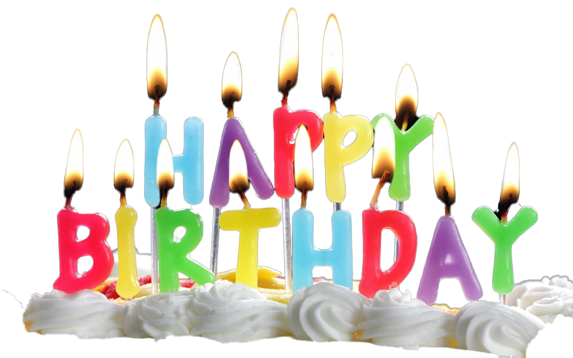 1920x1200 Download Birthday Candles Transparent Hq Png Image Freepngimg