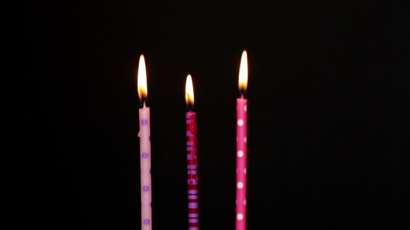 590x332 Happy Birthday Candles 3 Year By Celesta8 Videohive