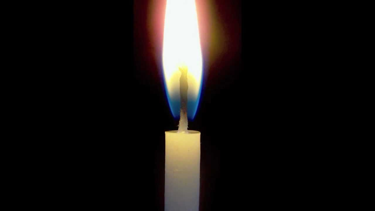 1280x720 Time Lapse Burning Birthday Candle