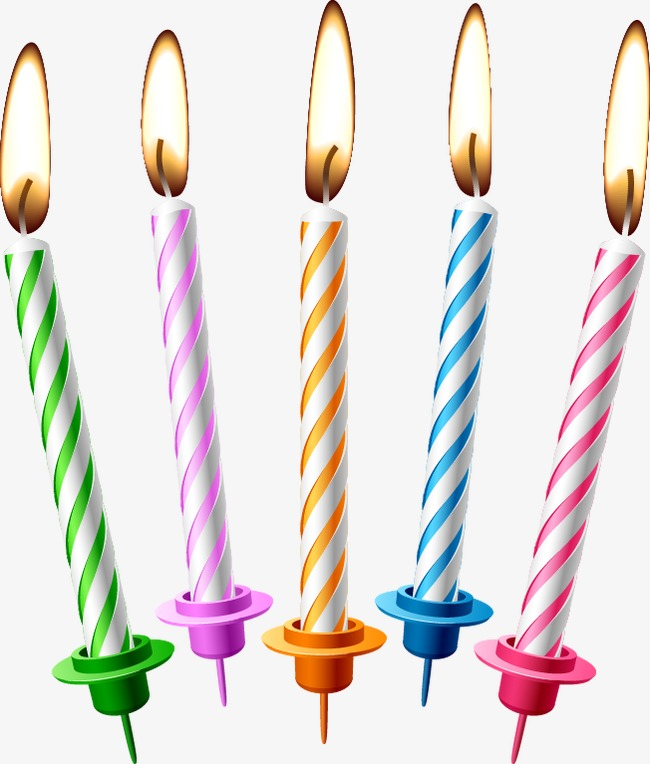 650x764 Birthday Candles, Birthday, Candle Png And Vector For Free Download
