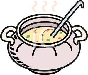 300x257 Ladle In A Bowl Of Soup