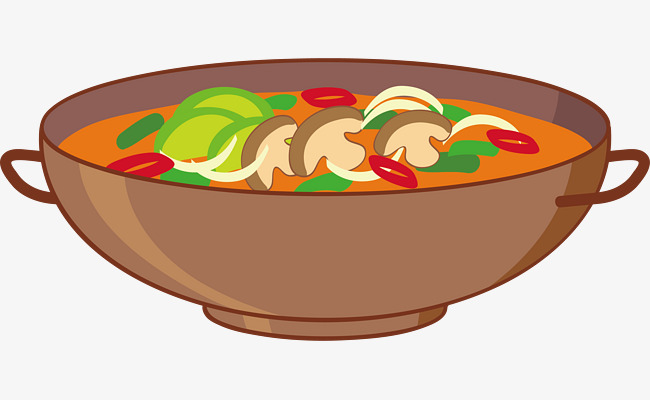 650x400 Vector Bowl Of Hot Soup, Vector, Bowl, Soup Png And Vector