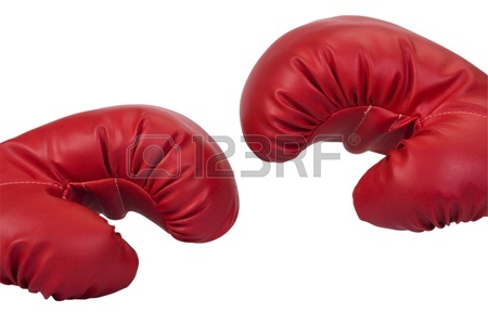 450x288 Close Up Of A Pair Of Boxing Gloves Stock Photo, Picture