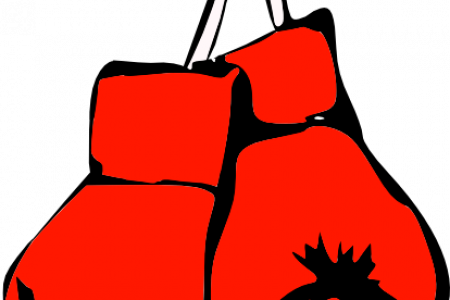 450x300 Boxing Gloves Clipart